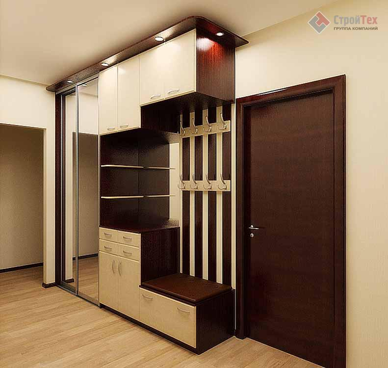 Дизайн шкафа в прихожей
